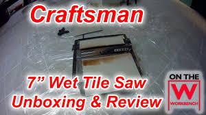 Ryobi 7 Wet Tile Saw Blade by Craftsman 7
