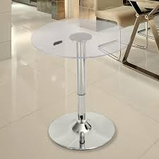 Adeco Glass Top Bar Table - FT0074 Round High Glass Top Bar Table And Minimalist Adjustable Swivel Home Design Ideas Images On Breathtaking Modern Dimensional In Stainless Steel Chrome With Black Tempered Display Cabinet Small Gammaphibetaocucom Bar Admirable In Kitchen With Counter White Vanity Clear For Displaying Makeup Make Rustic Height Set 5 X 7 Outdoor Rugs Vase Entrancing Bistro Stools Cleaning Pedestal Pub 42 Ding Aosom Hcom 28 Tables Green Accent Open Bars Contemporary Unit Fniture Luxurious