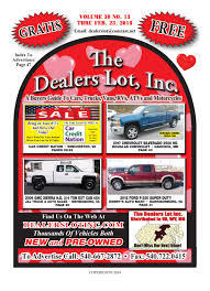 3013 Dealers Lot Pgs 1 48 B By The Dealers Lot Inc - Issuu 2013 Peterbilt 386 Hs Truck Sales Used Cars Tucson Az Trucks J S Whosale Semi Trailers For Sale Tractor Home M T Chicagolands Premier And Trailer New Commercial Service Parts In Atlanta Ford Ranger Americas Wikipedia Best Gateway Chevrolet Fargo Nd Moorhead Mn Wahpeton North Coast Cities Equipment