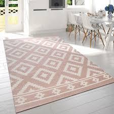 kurzflor teppich im modernen look wohnzimmerteppich designer