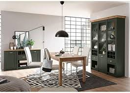 lomadox landhaus esszimmermöbel set englisch grün mit