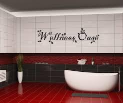 badezimmeraufkleber wellness oase badezimmer bad aufkleber sticker 1k130