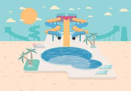 Water Slide Vector
