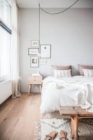 chambre grise et poudré decoration poudre gris moderne blanc meuble pale peint ensemble