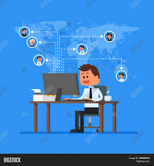 Remote Team Working Concept Vector Vector & Photo   Bigstock Freelance Programmer Coder Character Dude Work Stock Vector 100 Design Jobs Working From Home Freelancers News Topics Homefreelanceold Computer Books Objects On Set Flat Elements Office 207426172 Stunning Graphic Designer Photos Decorating Glamorous Wonderful Fresh At Best 3 22478 And In Workplace Fniture Concept Images Web