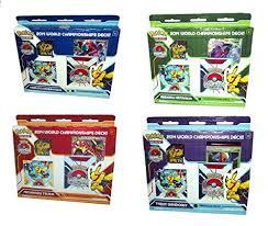 pokemon world chionship decks the best amazon price in savemoney es