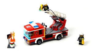 100 How To Build A Lego Fire Truck City 60107 Ladder Speed Cahald