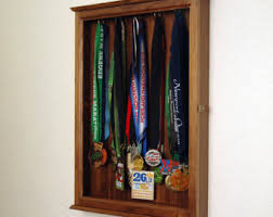 Sports Trophy Display Hanging Wall Cabinet