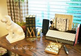 A Stroll Thru Life Kate Spade Inspired Desk Accessories