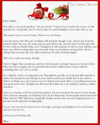 Letter To Child About Santa Not Being Real Letters Font