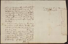 Letter From John Wesley To Walter Churchey English MS 1400 18