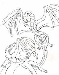 Chinese Dragon Clipart Coloring Page 7