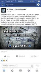 tell afpc we want ocps and ball caps airforce