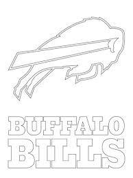 Click To See Printable Version Of Buffalo Bills Logo Coloring Page