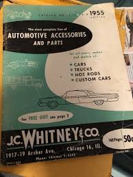 Customs - Vintage JC Whitney Car Accessories | The H.A.M.B. Photos Car Buffs Have Fun Testing Limits Of 500 Cars For Miles Gambler Illinois Event Report Jcwhitney Blog Top 5 Motorcycle Accsories Bcca Jc Whitney 1955 Catalog 112ford Chevy Gm Mopar Nash Mercury Dodge Jc_whitney Twitter Lot Of 2 Catalog Magazines 294 1972 286a 1971 Fh1 Experiment To See If Everything In A Can Fit On Wrench And Ride 2017 Truck Parts Used Semi Giant Celebrates Its Ctennial Hemmings Daily Kevin Monica Nichols 1954 4 Door Sedan Chevs The 40s News Auto Youtube