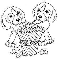Coloring Pages Printable Dog Free Animals Gallery Wallpaper Store Cartoon Skills Enhancing Color Recognition