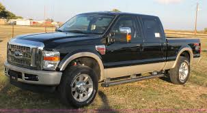 2009 Ford F250 King Ranch Crew Cab Pickup Truck | Item J1400...