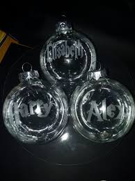 Christmas Tree Name Baubles by Bauble Sur Twipost Com
