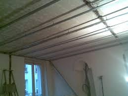 faux plafond non suspendu isolation idées