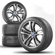 BMW X5 E70 F15 X6 E71 F16 20 Inch Alloy Wheels Rims Summer Tires ...