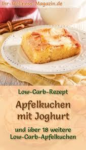 schneller low carb apfelkuchen mit joghurt rezept ohne