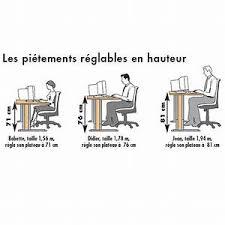 guide d ergonomie travail de bureau hauteur bureau standard guide d 39 achat bureau de travail 10