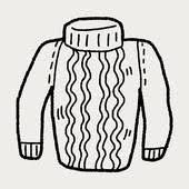 Safe Business sweater doodle