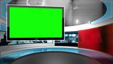 Three Screens Design Virtual News Studio