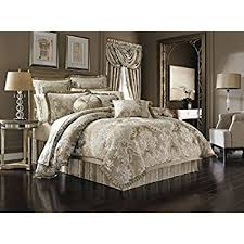 J Queen Celeste Curtains by Amazon Com Celeste King 4 Piece Comforter Set By J Queen Home
