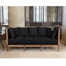 canap banquette canap en bois fabulous baroque salon meubles canap en bois massif
