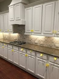KitchenBest White Granite For Cabinets Kitchen Grey Countertop Dark Light Floors