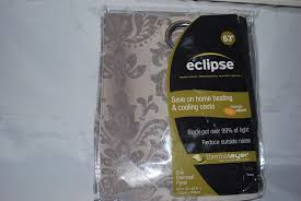 Eclipse Thermalayer Curtains Grommet by Eclipse Nadya Grommet Room Darkening Window Curtain Panel 52 X 63