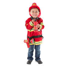 Melissa & Doug Fire Chief Role Play Costume Dress-Up Set - Walmart.com