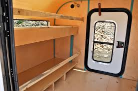 Travel Trailer Floor Plans With Bunk Beds by Vintage Dutch Travel Trailer Makeover Part 9 Bunk Beds And Rv