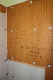 Tile Redi Niche Thinset by Installing A Kerdi Board Niche