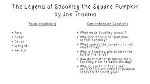 Spookley The Square Pumpkin Book Read Aloud by Close Reading For Spookley The Square Pumpkin By The Krazy Kinder