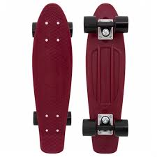 Penny Burgundy Skateboard - 22