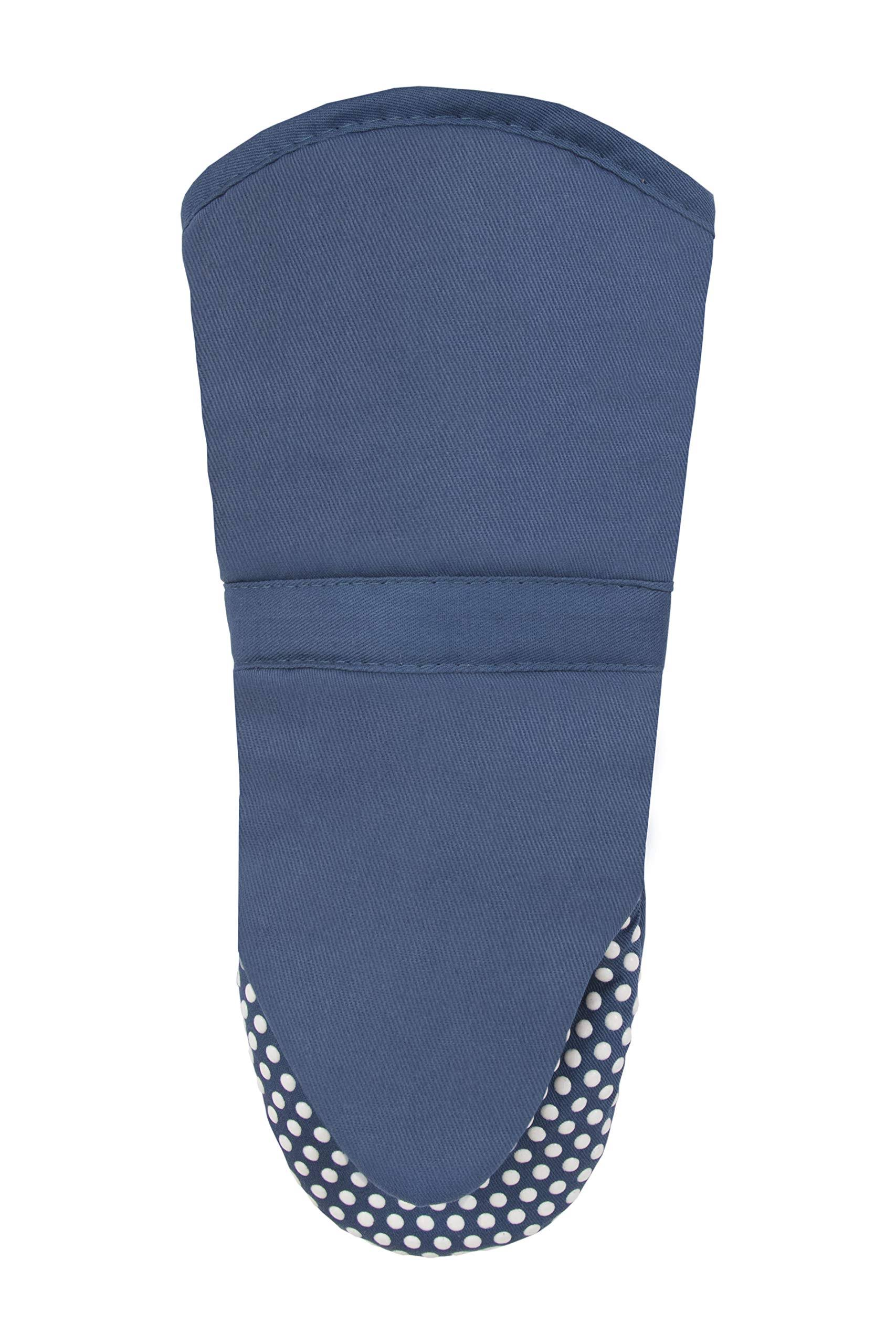 Ritz Silicone Dot Oven Mitt Federal Blue