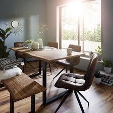 moderne sitzbank aus akazienholz kaufen