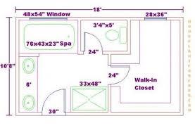 Small Master Bathroom Floor Plan by Small Master Bathroom Closet Floor Ensuite Pinterest Master