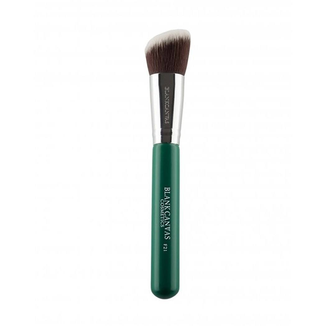 Blank Canvas Cosmetics F21 Black Angled Contour Face Brush