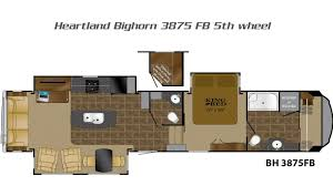 Montana 5th Wheel Floor Plans 2015 by Bighorn 5th Wheels By Heartland Rv