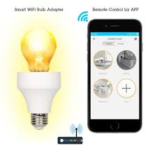 wifi smart 1 pc light bulb adapter bulb timing