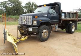 100 Kodiak Trucks 1991 Chevrolet Dump Truck Item DA8846 SOLD Octob