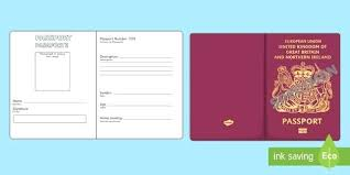 New Passport Writing Template Uk Photo Psd Letter For Second