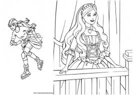 10 Barbie Printable Coloring Pages