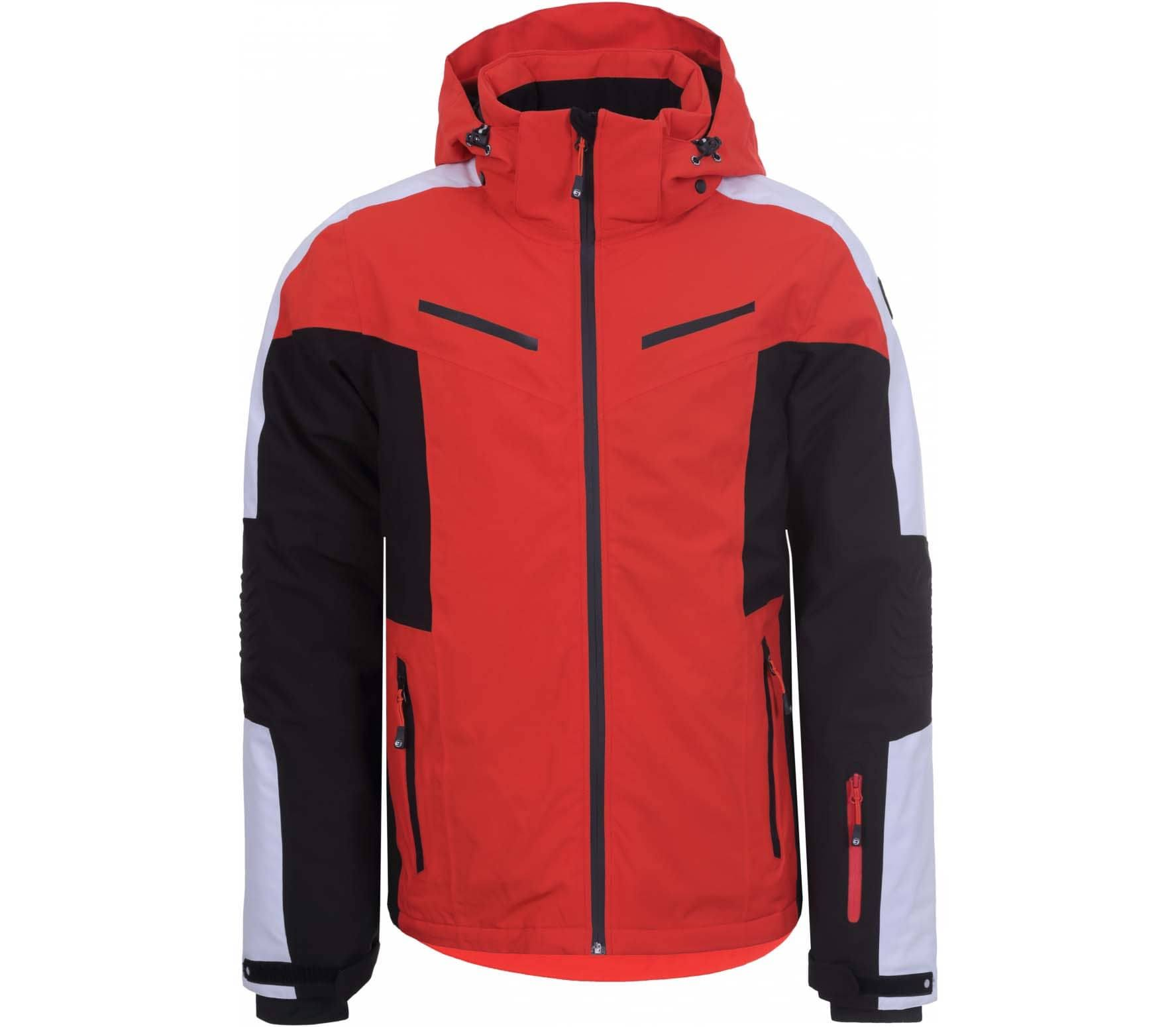 Icepeak Fieldon Men Ski Jacket Red