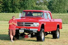 100 Crew Cab Trucks For Sale 1970 Dodge Cummins Swap Power Wagon 8Lug Diesel Truck