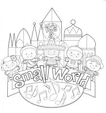 Disney World Coloring Pages Free