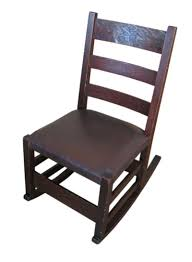 Amazon.com: Antique Gustav Stickley Sewing Rocking Chair ... Victorian Arts And Crafts Solid Oak Antique Glastonbury Chair Original Primitive Press Back Rocking 1890 How To Appraise Chairs Our Pastimes Bargain Johns Antiques And Mission Identifying Ski Country Home Replace A Leather Seat In An Everyday Wooden High Chair From 1900s Converts Into Rocking Lborough Leicestershire Gumtree Sold Style Refinished Maple American Style Childs Antiquer Rocker Reupholstery Vintage